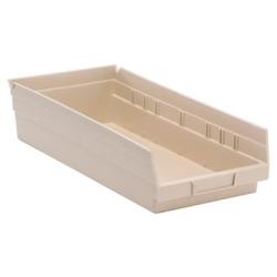 """Ivory Quantum® Economy Shelf Bin - 17-7/8"""" L x 8-3/8"""" W x 4"""" Hgt."""
