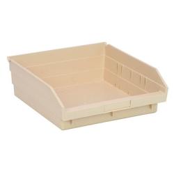 """Ivory Quantum® Economy Shelf Bin - 11-5/8"""" L x 11-1/8"""" W x 4"""" Hgt."""