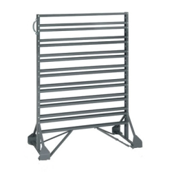 Double Sided Rack Only with 32 Rails