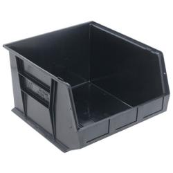 """Quantum® Black Conductive Stack & Hang Bin - 18"""" L x 16-1/2"""" W x 11"""" Hgt."""