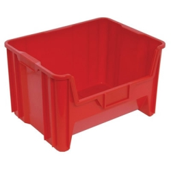 "15-1/4"" L x 19-7/8"" W x 12-7/8"" Hgt. Red Quantum® Giant Stack Container"