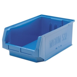 "Blue Quantum® Magnum Storage Bin - 19-3/4"" L x 12-3/8"" W x 7-7/8"" Hgt."