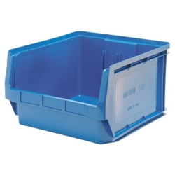 "Blue Quantum® Magnum Storage Bin - 19-3/4"" L x 18-3/8"" W x 11-7/8"" Hgt."