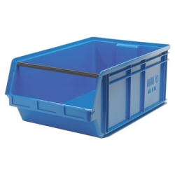 "Blue Quantum® Magnum Storage Bin - 29"" L x 18-3/8"" W x 11-7/8"" Hgt."