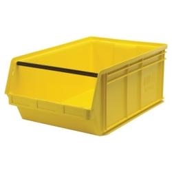 """Yellow Quantum® Magnum Storage Bin - 29"""" L x 18-3/8"""" W x 11-7/8"""" Hgt."""