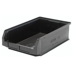 "Black Quantum® Magnum Storage Bin - 19-3/8"" L x 12-3/8"" W x 5-7/8"" Hgt."