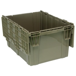 "28""L x 20-5/8""W x 15-5/8""H Heavy Duty Attached Top Container"