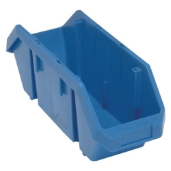 "18-1/2""L x 6-5/8""W x 7""H Blue QuickPick Double Sided Bin"