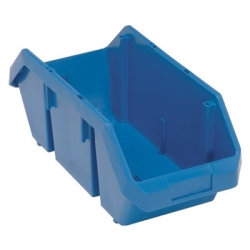 "18-1/2""L x 8-3/8""W x 7""H Blue QuickPick Double Sided Bin"