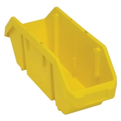 "18-1/2""L x 6-5/8""W x 7""H Yellow QuickPick Double Sided Bin"
