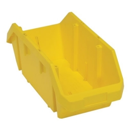 "18-1/2""L x 8-3/8""W x 7""H Yellow QuickPick Double Sided Bin"