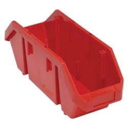 "18-1/2""L x 6-5/8""W x 7""H Red QuickPick Double Sided Bin"