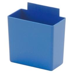"""3-1/4""""L x 1-3/4""""W x 3""""H Small Blue Bin Cup"""