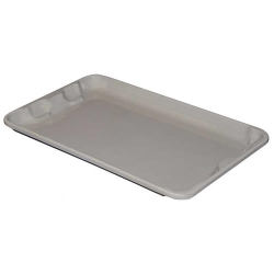 "Gray Cover for 24-1/4"" L x 14-3/4"" W Boxes"