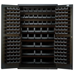 "Black Quantum® Heavy Duty 48"" Wide Cabinet"