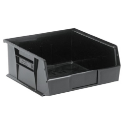 "Black Quantum® Ultra Series Stack & Hang Bin - 10-7/8"" L x 11"" W x 5"" Hgt."