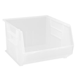 "18"" L x 16-1/2"" W x 11"" Hgt.  Quantum® Clear-View Ultra Series Stack & Hang Bin"