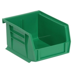 "5""L x 4-1/8""W x 3""H Green Quantum® Ultra Series Stack & Hang Bin"
