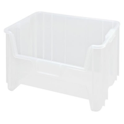 """15-1/4"""" L x 19-7/8"""" W x 12-7/16"""" Hgt. Clear Quantum® Giant Stack Container"""
