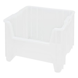 """17-1/2"""" L x 16-1/2"""" W x 12-1/2"""" Hgt. Clear Quantum® Giant Stack Container"""