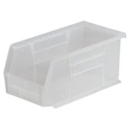 """10-7/8""""L x 5-1/2""""W x 5"""" OD Clear Storage Bin"""