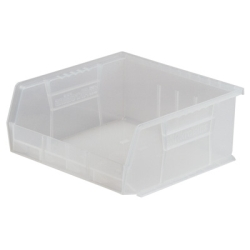 "10-7/8"" L x 11"" W x 5"" Hgt. OD Clear Storage Bin"