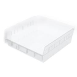"""11-5/8"""" L x 11-1/8"""" W x 4"""" Hgt. OD Akro-Mils® Clear Storage Shelf Bin"""