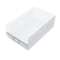 """17-7/8"""" L x 8-3/8"""" W x 4"""" Hgt. OD Akro-Mils® Clear Storage Shelf Bin"""