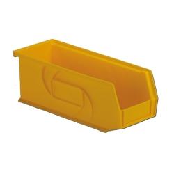 """10-7/8""""L x 4-1/8""""W x 4""""H Yellow Bin"""