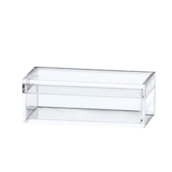 "Clear Plastic Box with Removable Lid 1"" x 2"" x 3/4"""
