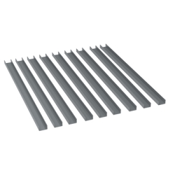 Large Rail Kit, Gray for 8890
