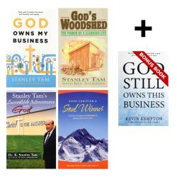 Founder's Pack - All Four Stanley Tam Books - Plus Bonus Book