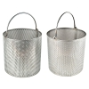 "Stainless Steel 12"" x 12"" Dipping Baskets"