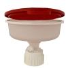 "5.5"" Nalgene™ Safety Waste Funnel with 38-430 Cap Size"
