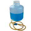 2-1/2 Gallon Tamco® Modified Nalgene™ Wide Mouth LDPE Carboy with a Tubing & Pinch Spigot