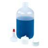 8 oz. LDPE Boston Round Bottle with 24/410 Neck (Cap Sold Separately)