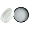 38/400 Black Polypropylene Cap with Pressure Sensitive Liner