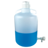 """5 Gallon Tamco® Modified Nalgene™ LDPE Carboy with a 3/4"""" HDPE Flow Spigot"""