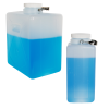 2 Gallon/9 Liter Nalgene™ HDPE Rectangular Carboy