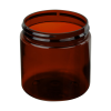 4 oz. Amber PET Straight Sided Jar with 58/400 Neck (Cap Sold Separately)