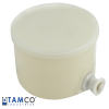 Tamco® Containers with Covers & Push-Button Spigots