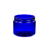 6 oz. Cobalt Blue PET Straight Sided Jar with 70/400 Neck (Cap Sold Separately)