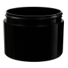 8 oz. Straight Sided Double Wall Black Jar with 89/400 Neck (Cap Sold Separately)