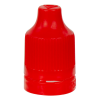 13/415 Red CRC/TE Cap for 10mL and Larger E-Liquid Bottles