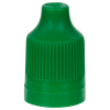 13/415 Green CRC/TE Cap for 10mL and Larger E-Liquid Bottles