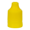 13/415 Yellow CRC/TE Cap for 10mL and Larger E-Liquid Bottles
