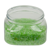 6 oz. Clear PET Firenze Square Jar with 70/400 Neck (Cap Sold Separately)