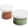 1/4 oz. Polystyrene Straight Sided Jar with 33/400 Cap
