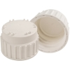 83B Nalgene™ White Polypropylene Closures