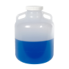 5 Gallon Nalgene™ Autoclavable Polypropylene Wide Mouth Carboy with Handles